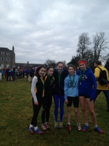 KCH Girls' U-14 relay team