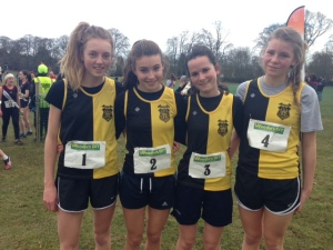 KCH Junior Cross Country Team