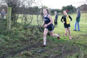 Rachel Butler (2) and Niamh Richardson (3)