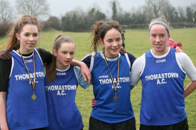 Thomastown: 1st team: Sinead Whelan, Ailis O Shea, Maeve O Connor, Niamh O Shea