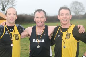 Eoin Molloy (3rd), Sean Caulfield (1st), Paul Moran (2nd)