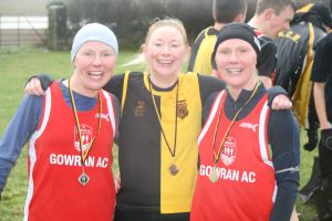 Mary Anne Connolly KCH (3rd) with Anne Skehan (1st) and Linda Delaney (2nd)