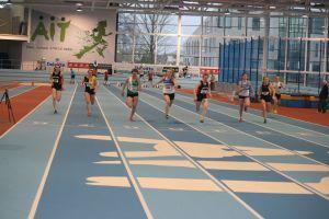 Girls U-18 60m: Sophie Becker 3rd