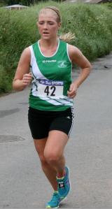 Womens winner Sally Forristal