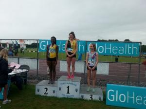 Lauren Gleeson Long Jump Gold