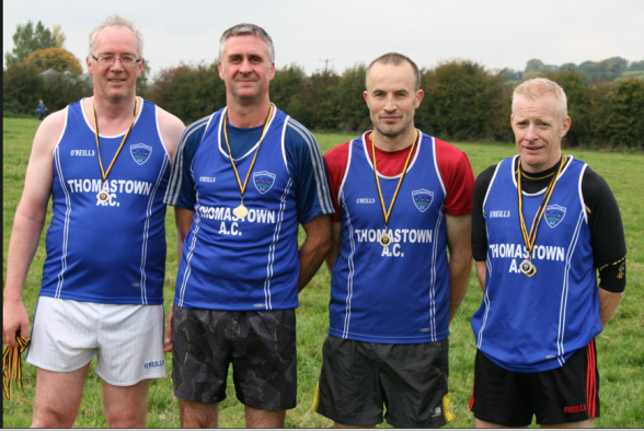 Thomastown AC: 2015 M45 Cross Country Champions
