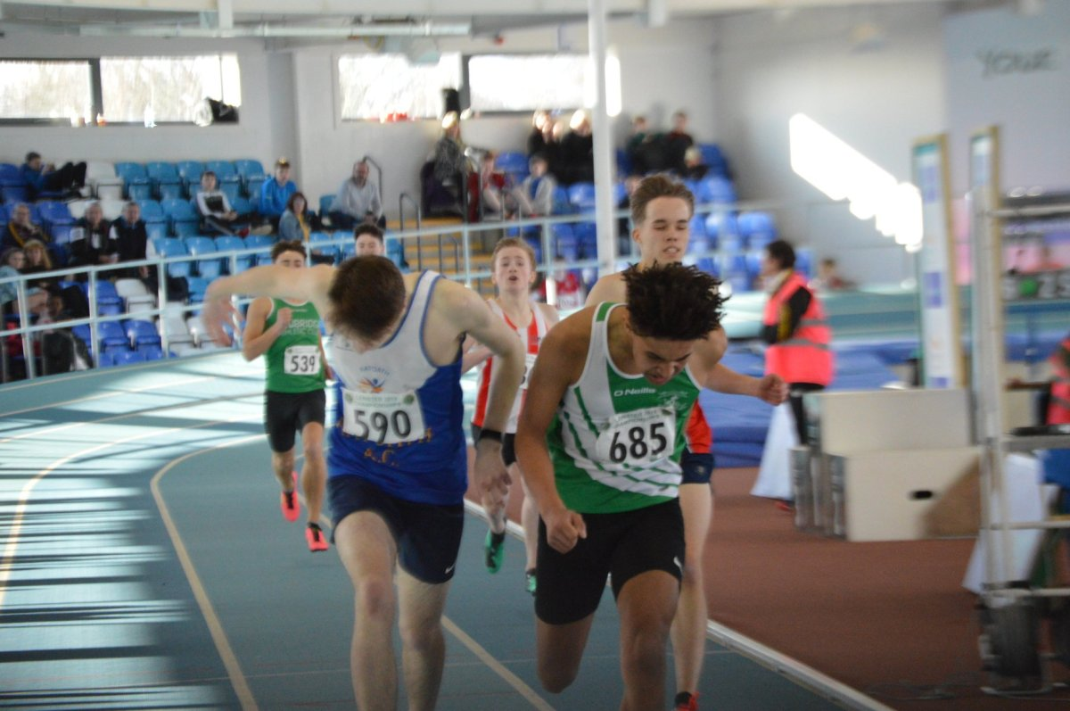 2019 Leinster Juvenile Indoors Athletics Kilkenny